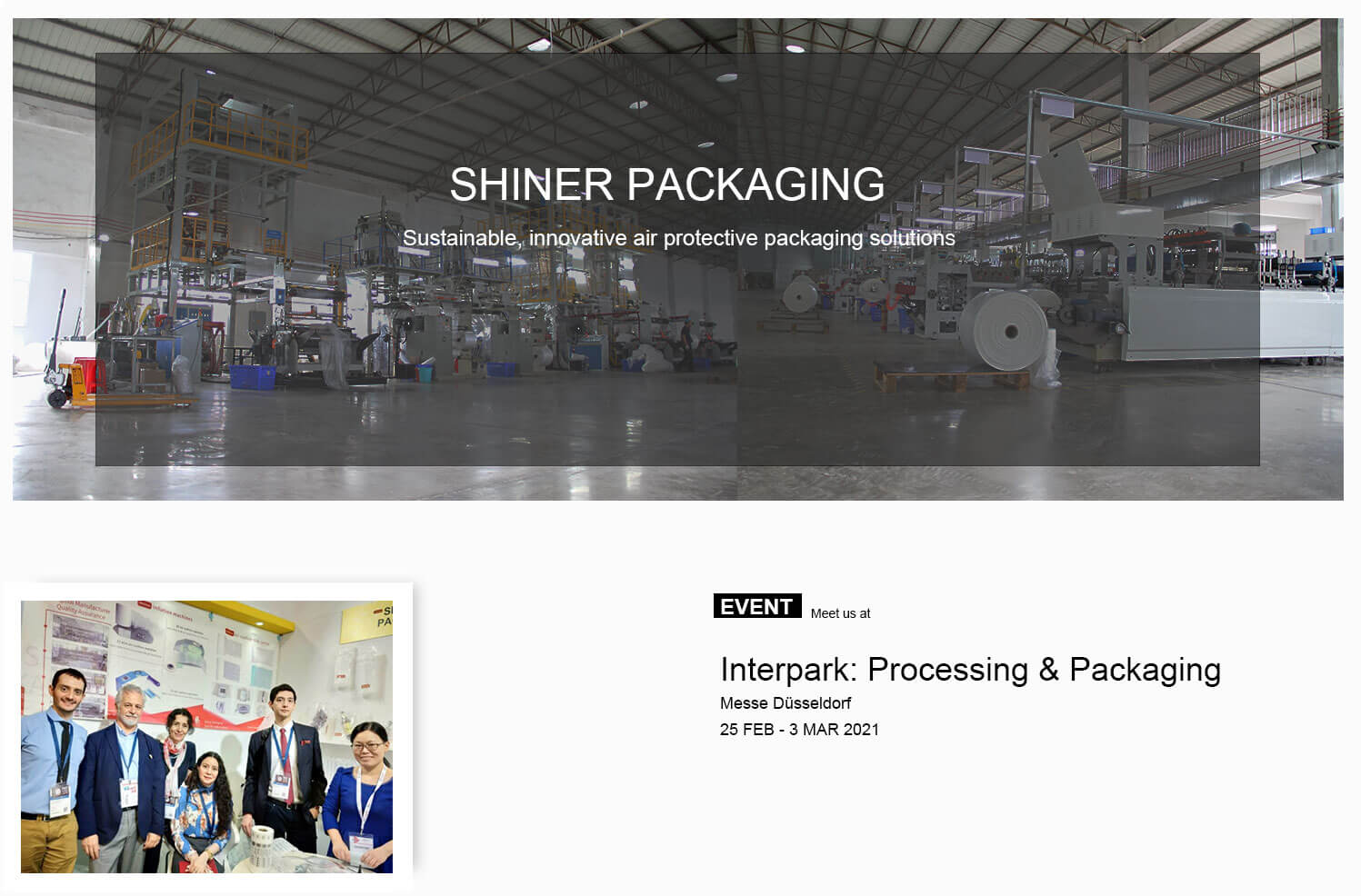SHINERPACK FACTORY