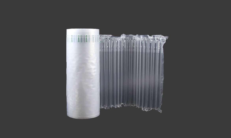 Air column packing film