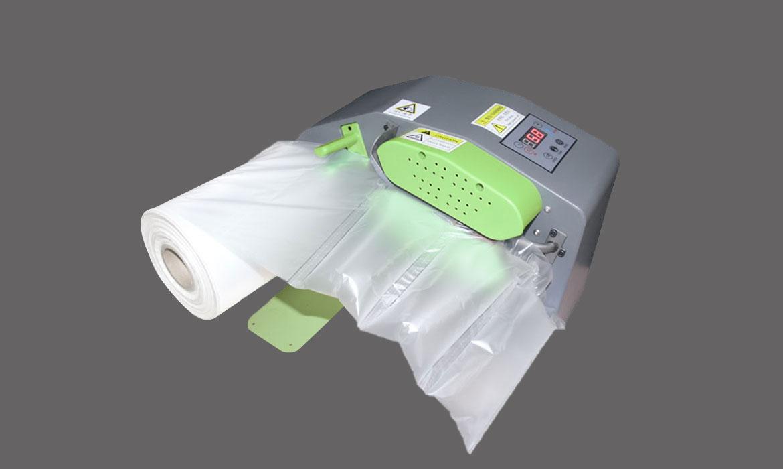 Air cushion machine sometimes called air pillow mchine