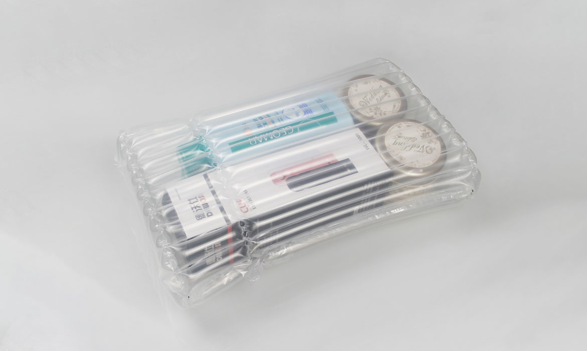 cosmetic air column packing bag