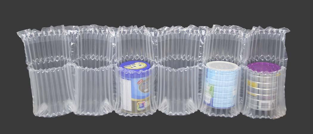 air column packing bag for milk powder can