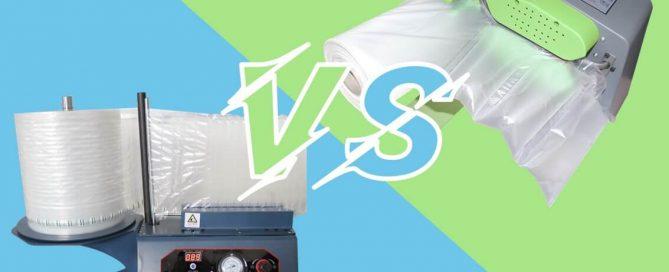 air column machine vs air cushion machine