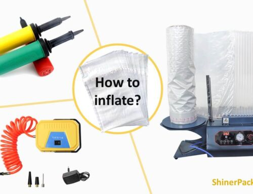 How to inflate air column bag?