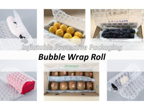 Inflatable Protective Packaging Bubble Wrap Roll